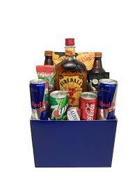 fireball whiskey gift box