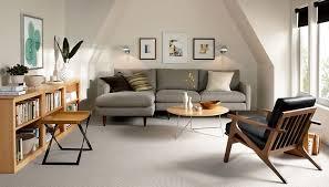wonderful modular sofa design grey fabric sectional sofa beige varnished wood cabinet shelves white striped textured