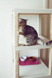 Accessories: IKEA Lack Table Tree For Cats - 10 Brilliant IKEA Hack For  Your Cats