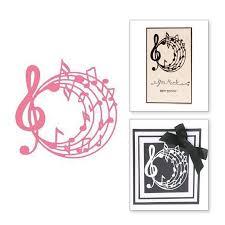 Us 1 91 20 Off Naifumodo Musical Metal Cutting Dies New 2019 Music Note Scrapbooking Card Making Diy Album Decorative Embossing Craft Stencil In