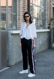 Stylish white pants ideas for ladies Waist Chic Marie Claire Cute Casual Outfits For Women Comfortable Stylish Clothing Ideas