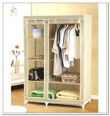 portable closet wardrobe racks collapsible clothes rack bed bath and beyond