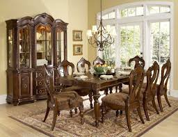 extendable dining table set:  classy modern dining room furniture  seats design ideas with rustic extending dining table set design