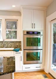 17 best ideas about double wall ovens in wall oven kitchen makeover day 3 new appliances double oven kitchendouble wall