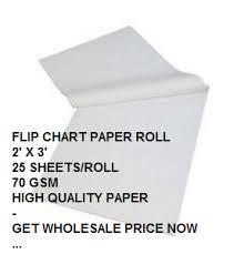 Flip Chart Paper Roll 2 X 3 Malaysia