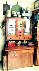 kitchen cabinet best cabinets and parts images on drawer replacement antique vintage hoosier w flour bin