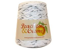 Peaches And Cream Yarn Color Chart Peaches And Cream Cotton Salt Pepper White With Black
