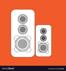 Sound Box Design Pdf Speakers Columns Isolated Design