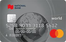 Check spelling or type a new query. World Mastercard Travel Rewards Credit Card National Bank