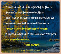Pema Chodron Quotes Fascinating Top Quotes Of Pema Chodron Compassion Is Not A Relationship