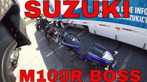 2018 suzuki m109. perfect 2018 2017 suzuki boulevard m109r boss first ride review with 2018 suzuki m109