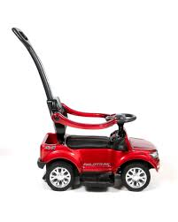 <b>Каталка BARTY Ford</b> Ranger с ручкой - красный глянец - купить ...