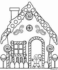 Free Printable House Coloring Pages For Kids Simple Houses Olegratiy
