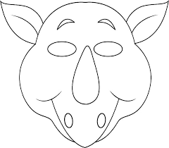 Mask Templates For Adults Best Blank Mask Template Printable Animal Mask Coloring Pages Kids Jungle