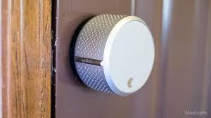 smart front door locksSiri can unlock your front door with Augusts HomeKitready smart lock