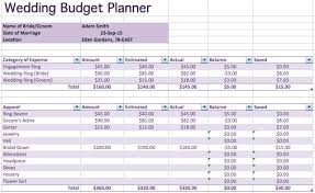 wedding budget excel template wedding budget excel spreadsheet family planner though