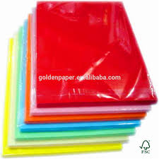 Supply All Kinds Of A4 Size Color Copy Paper Color Bond Paper
