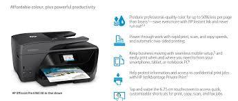 Hp Officejet Pro 6960 Color All In One Printer J7k33a Buy Best