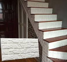 pe foam 3d diy stone brick wall