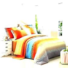 orange and gray baby bedding brilliant blue duvet cover single covers king burnt luxury quilts grey