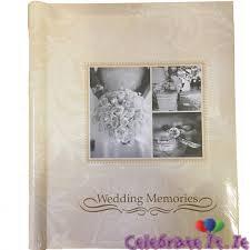 Wedding Memories Photograph Album
