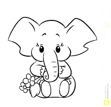 printable elephant coloring pages. Perfect Coloring Baby Elephant Coloring Page Printable Pictures  Pages  Inside Printable Elephant Coloring Pages P