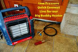 low pressure propane hook up kit