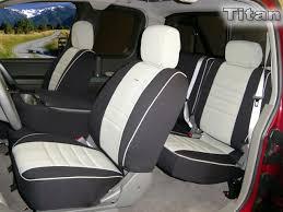 nissan titan half piping seat covers rear seats