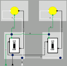 two light two switch wiring diagram Two Switch Wiring Diagram 2 light wiring diagram two pole switch wiring diagram