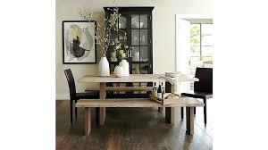 barrel dining table trendy crate and room chairs