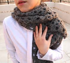 Crochet Scarf Patterns Bulky Yarn Gorgeous Cute Crochet Scarf Pattern Bulky Yarn Crocheted Chunky Lacy Scarf On
