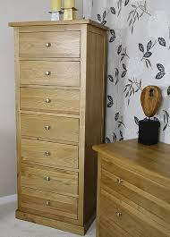bedroom chest of drawers.  Drawers Glenmore Oak Tall 7 Drawer Bedroom Chest Of Drawers Inside E