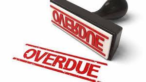 Overdue Account Overdue Accounts Receivable