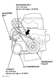 Serpentine and timing belt diagrams