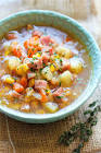 bam s beefy cabbage vegetable soup