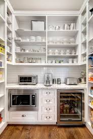 a typical walk in pantry might take up 30 sf at 6ft x 5ft deep a large walk in could easily double that area especially if a client wants room for a