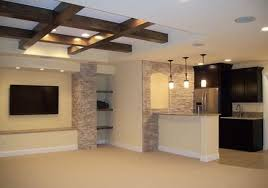 exposed ceiling lighting basement industrial black. Image Of: Exposed Basement Ceiling Ideas Modern Lighting Industrial Black