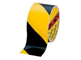<b>Клейкая лента 5702</b> 50mm x 33m Black Yellow 7000017005 ...
