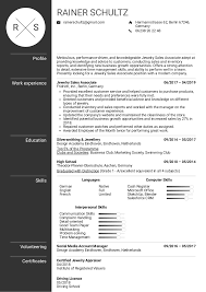 Sales Associate Resume Resume Examples By Real People Jewelry Sales Associate