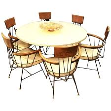 Mid century modern kitchen table Rectangle Mid Century Kitchen Table Mid Century Modern Dining Set With Table And Six Chairs By Mid Century Modern Kitchen Table For Sale Runforsarahcom Mid Century Kitchen Table Mid Century Modern Dining Set With Table