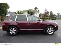 2004 Carmona Red Metallic Porsche Cayenne Turbo #4896594 Photo #13 ...