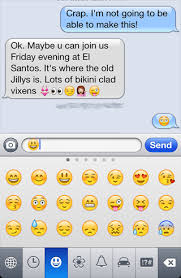 How To Add Emojis Graphical Emoticons To Your Iphone Text
