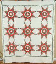 Mennonite Quilt | eBay & AMAZING Vintage Pennsylvania Mennonite Feathered Star Blazing Sun Antique  Quilt! Adamdwight.com