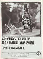 mgxsgebujxftlhqxnda jpg jack daniels a4 poster advert original rare p p