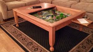 The most common coffee table plans material is cedar. Geek Chic Gone Build Your Own Gaming Table Geekdad