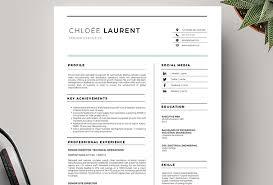 Modern Resume Cover Letters 50 Cv Resume Cover Letter Templates For Word Pdf 2017