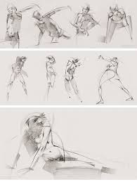Quickposes Pose Library For Figure Gesture Drawing Practice
