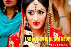 indian bridal makeup tips fair to very fair skin tones