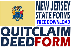 new jersey deed form new jersey quit claim deed free quit claim deed form