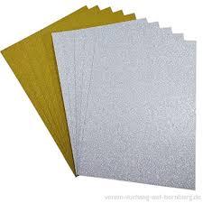 10 Blatt Glitzer Papier Glänzend Bastelpapier A4 Farbiges